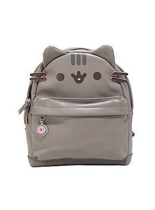 e5d6e2c9da Pusheen Faux Leather Mini Backpack, | Kawaii | Pusheen backpack ...
