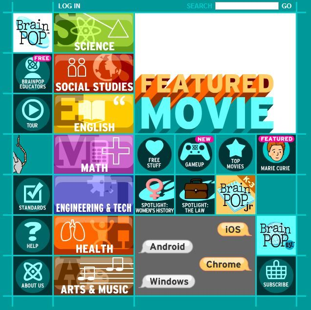 brainpop awesome educational website for kids ours love this so
