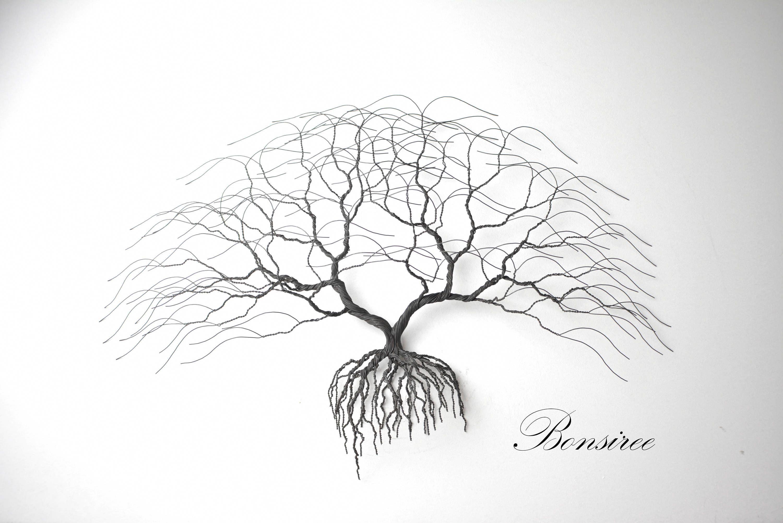 Metal Tree Wall Art Luxury Anise Bonsai Wire Metaltreeartdecor