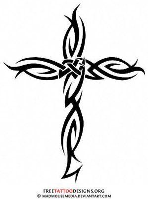 Tribal Tattoo Jesus Christ Tattoo Idea Pinterest Tattoos
