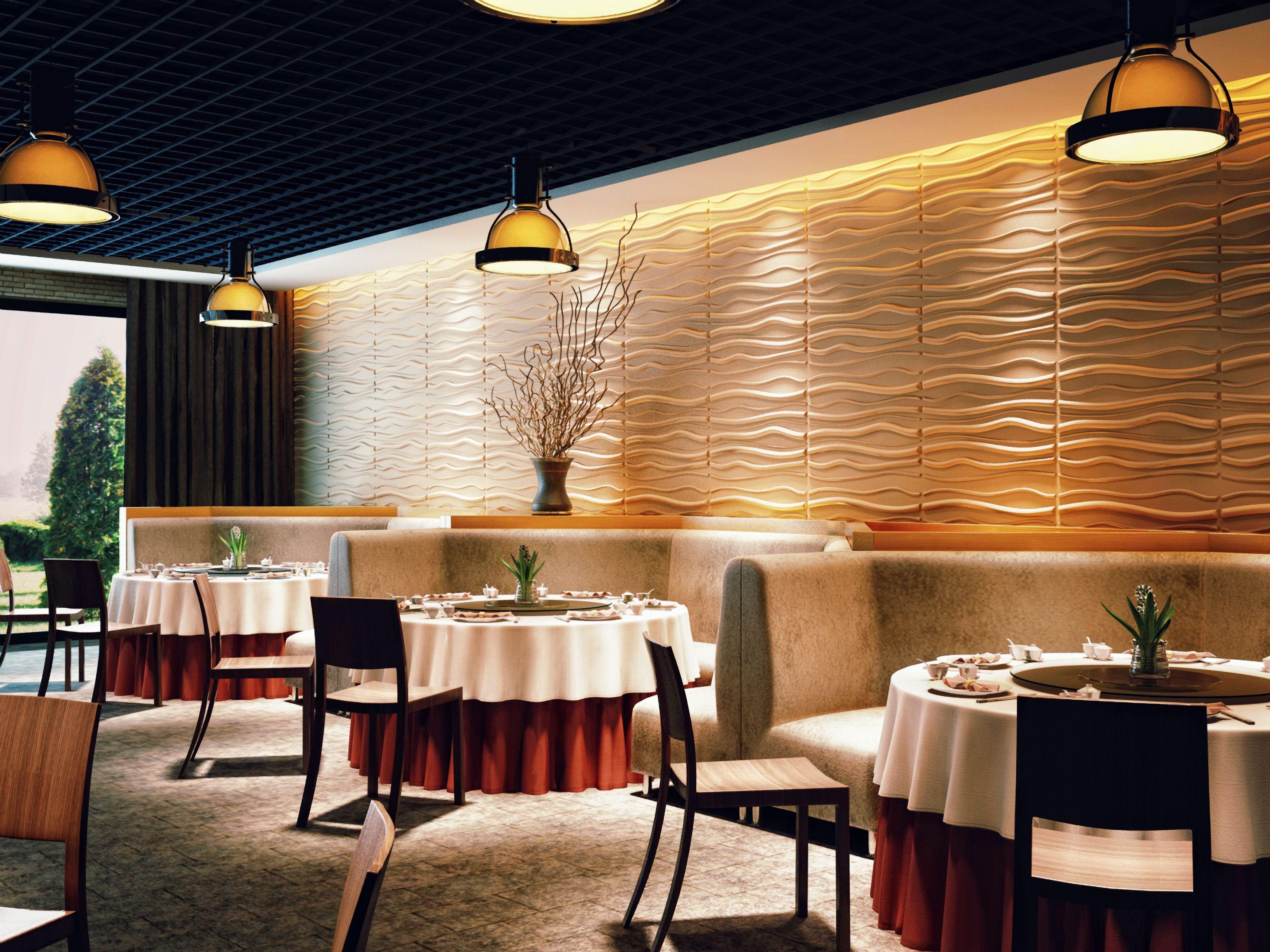 Innovative 3d Wandgestaltung Mit Paneelen Aus Bambusfasern Und Zuckerrohr Wandpaneele 3d Wandplatten Wandverkleidung