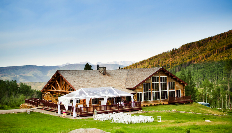 Beanos Cabin Beaver Creek Wedding Colorado Destination Wedding