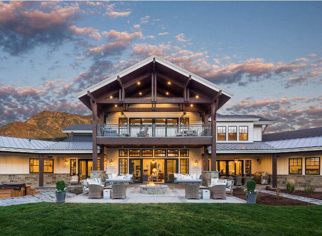 Pin by kristine lindgren on house exterior design casas - Rustic modern farmhouse exterior ...