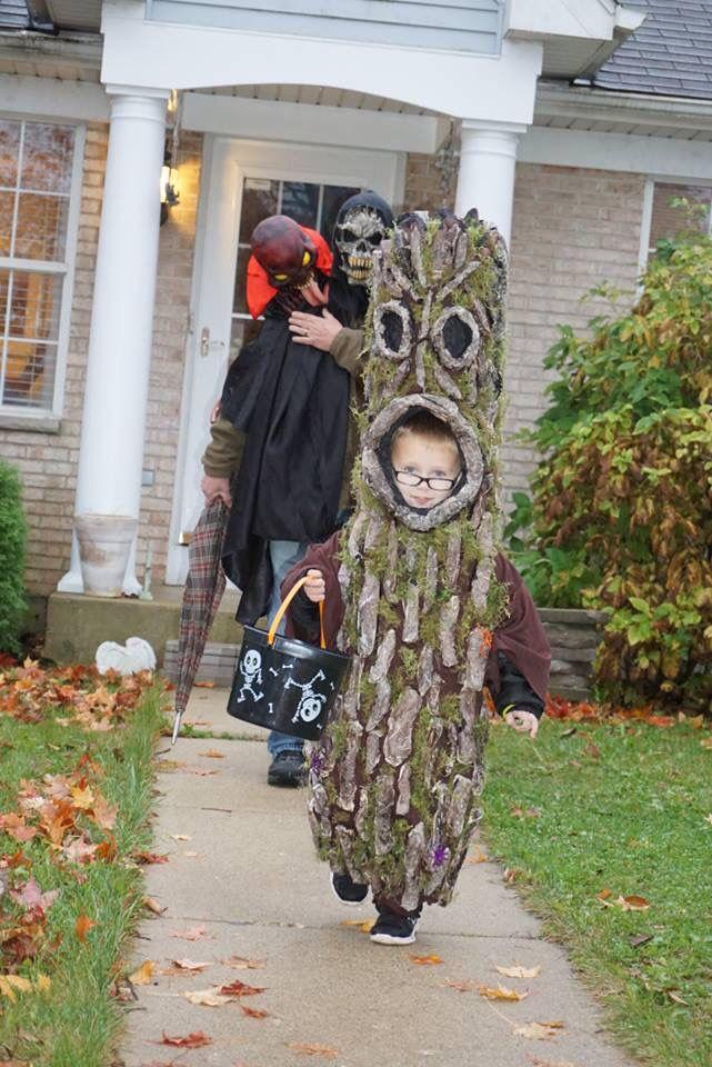 Kids Spooky tree costume Tree costume