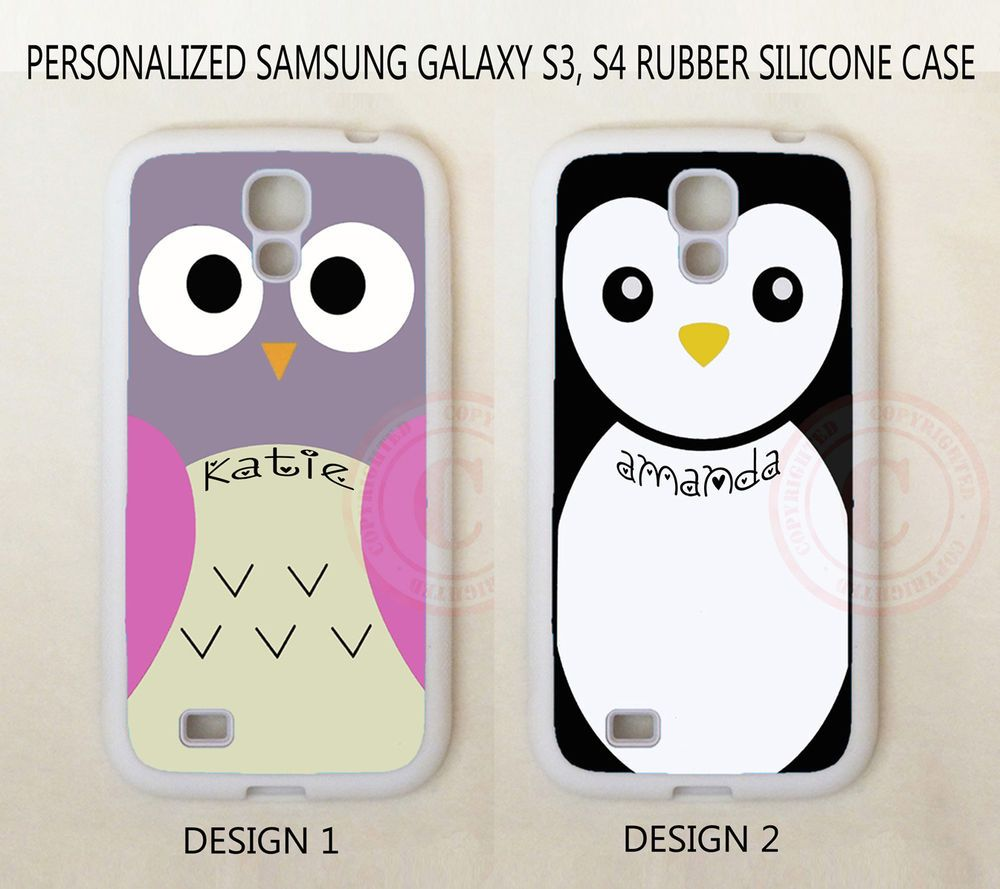 Personalized CUTE PINK OWL PENGUIN Custom Case For Samsung Galaxy S7 S6 Note 7 5 #UnbrandedGeneric