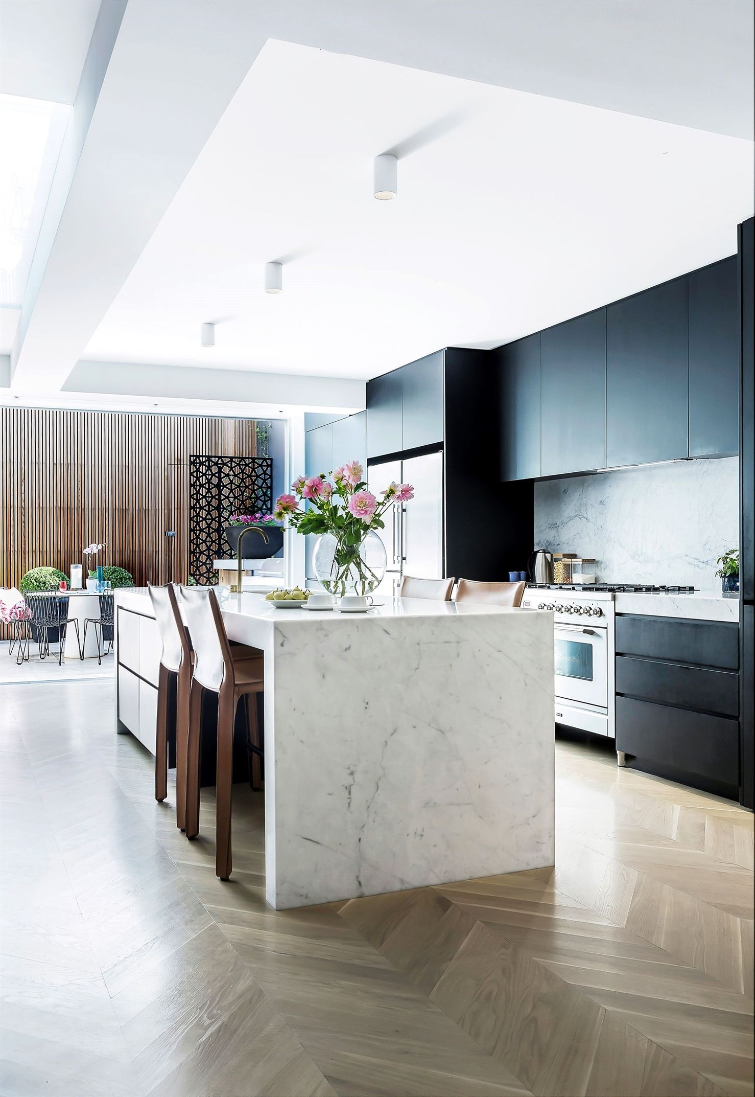kitchen from victorian terrace renovation in sydney's