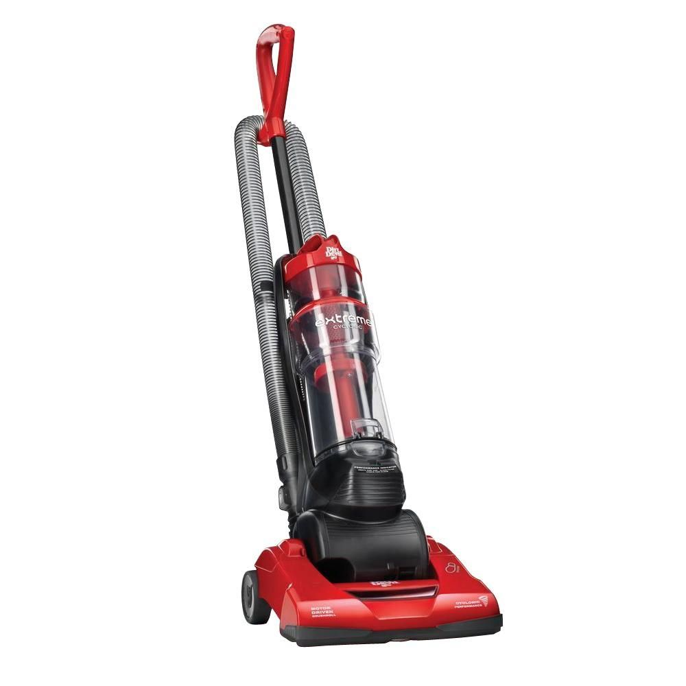 Dirt Devil 7 Amp Extreme Bagless Cyclonic Quick Upright Vacuum Cleaner, Reds/Pinks