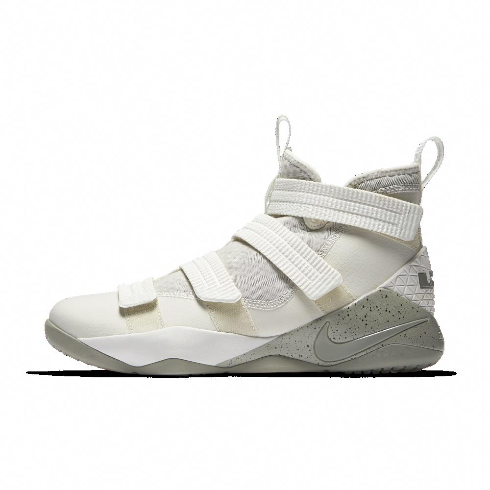 8cab6b5f7b4 Nike LeBron Soldier XI SFG Men s Basketball Shoe Size 13 (Cream)   mensbasketball