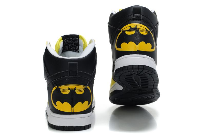 a608e9b9d2df Nike Nike Marvel Comic Batman Themed Custom Dunk Shoes Features. Jealous