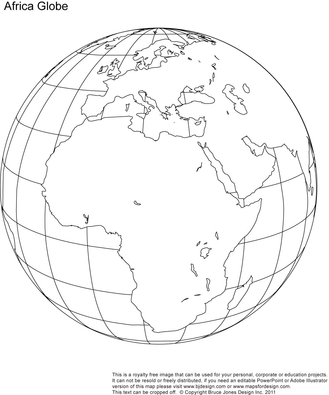 printable blank world globe earth maps