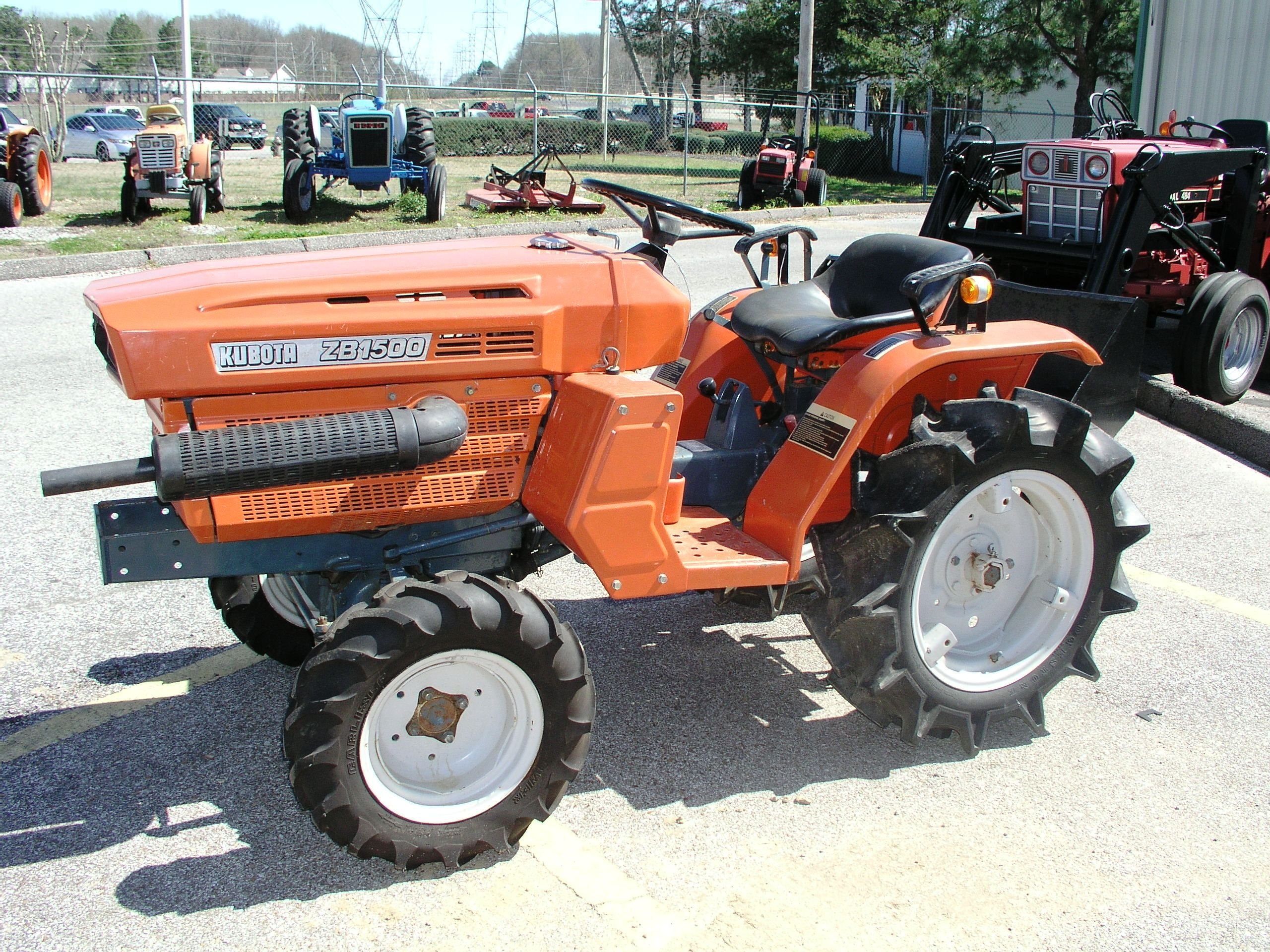 kubota zb1500 tractor mania kubota tractors. Black Bedroom Furniture Sets. Home Design Ideas