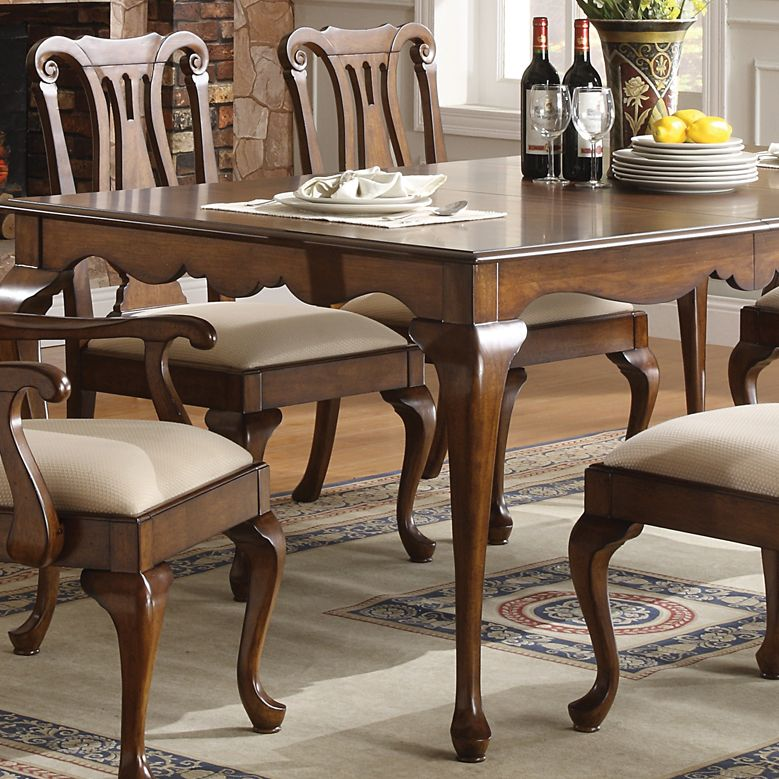 Yorkshire Rectangular Leg Dining Table Chairs Winners Only