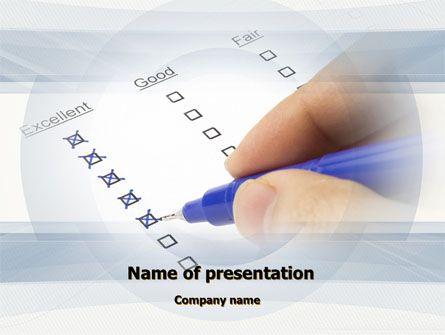 http://www.pptstar.com/powerpoint/template/evaluation-check/ Evaluation Check Presentation Template