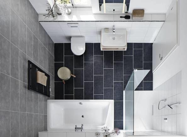 Badezimmer Mit Dusche Und Badewanne Begehbare Badewanne