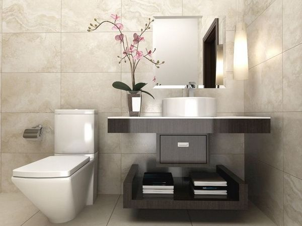Ideas para decorar el ba o con plantas bath toilet and house - Ideas para decorar banos pequenos ...