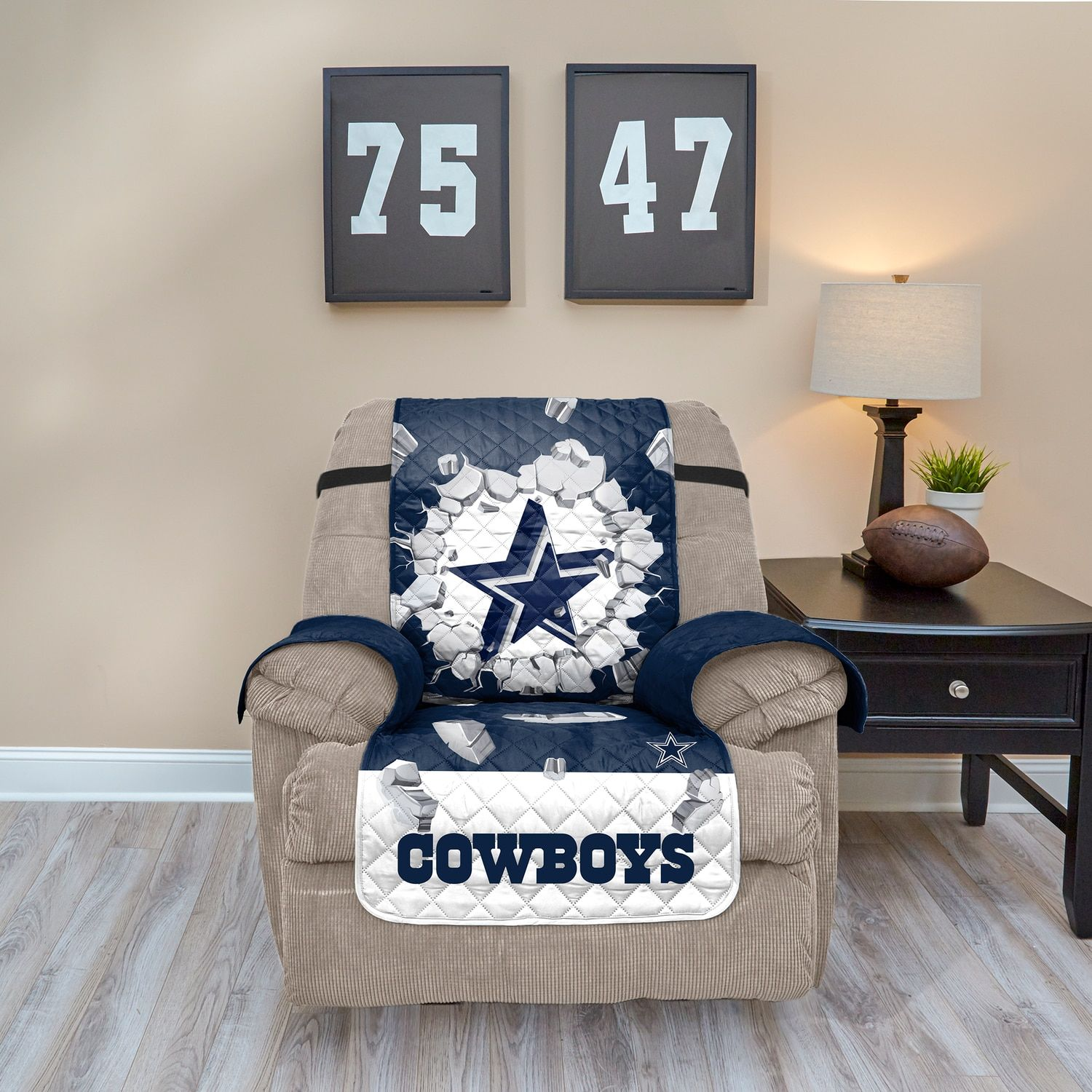Dallas Cowboys Breakthrough Recliner Chair Cover