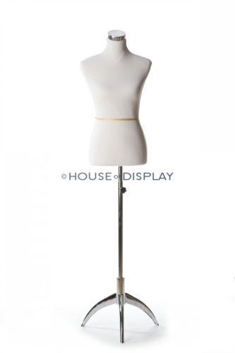 Jamie white mannequin dress