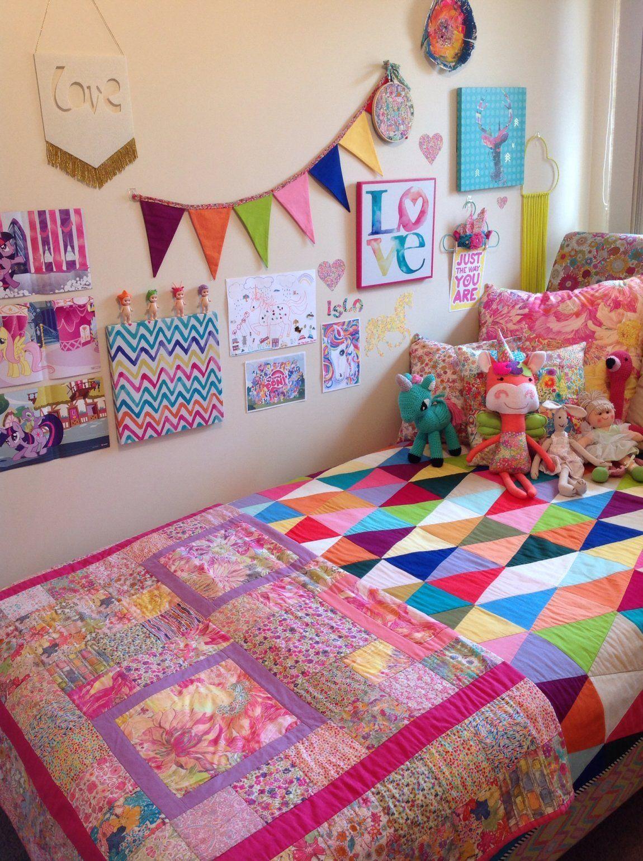 pinroxanne ignatius on unicorn  rainbow girls room