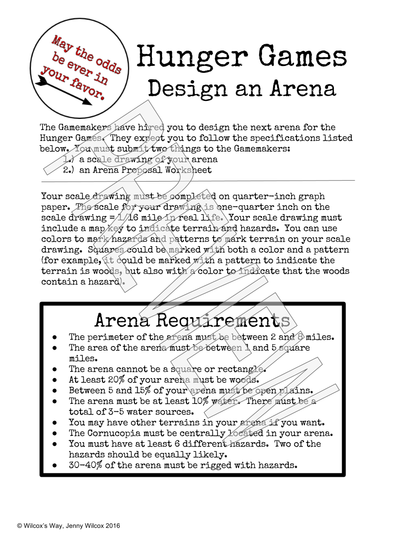 Design An Arena Math Scale Drawing Project Math Projects Fun
