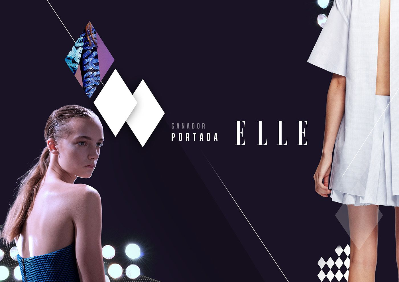 On air branding for fashion Show. on Behance