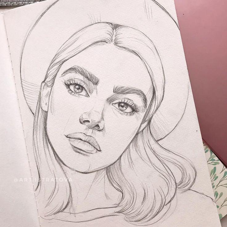 PORTRETRIES TO ORDER Instagram auf Instagram Meine gestrige Skizze sketch Gestern   Drawing