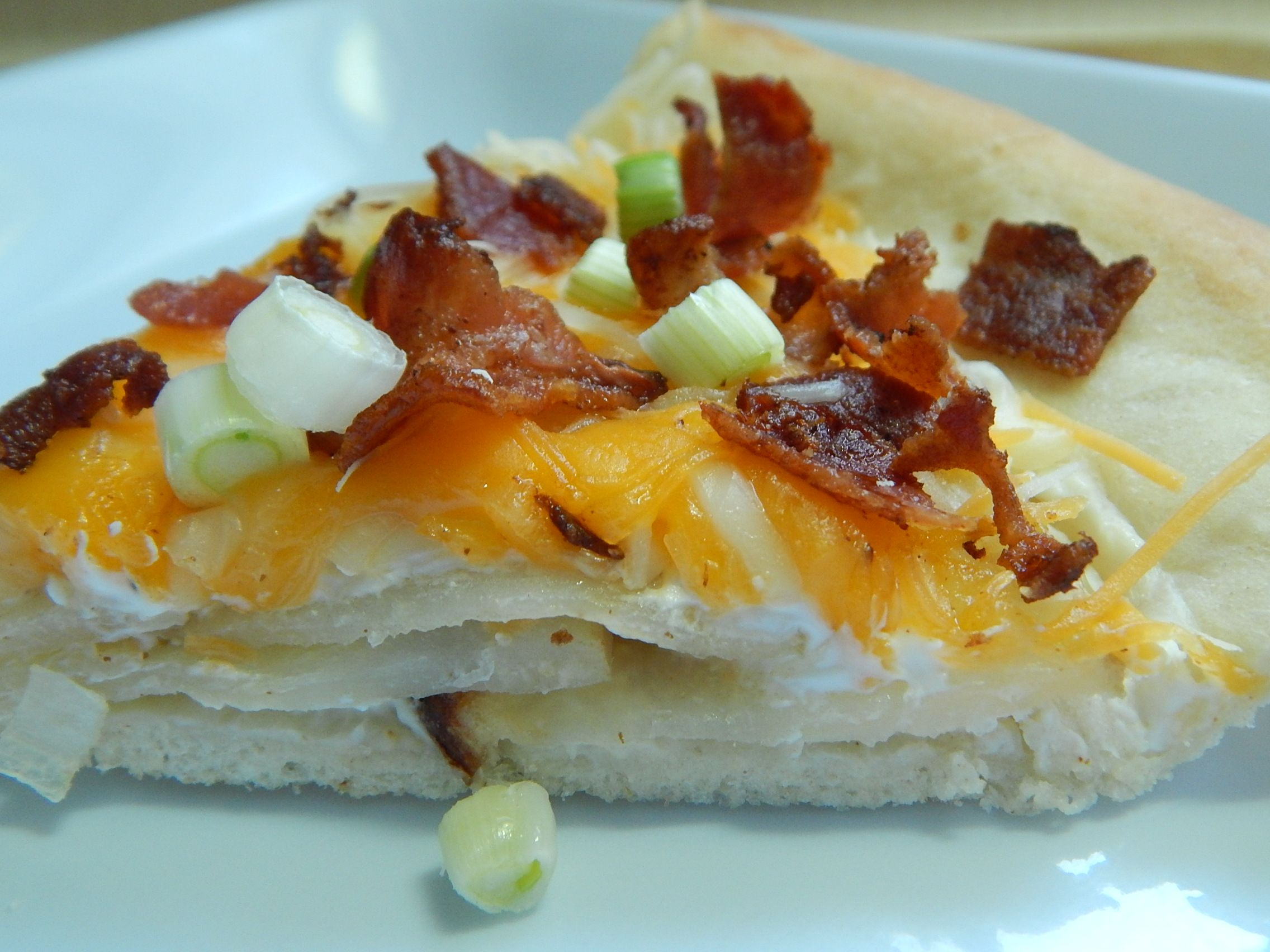 Spicy perogy pizza pie by drizzle me skinny
