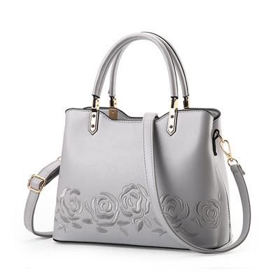 Luxury Women Leather Messenger Bag Leather Shoulder Embroidery