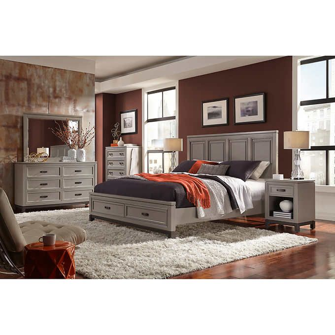 Norah 6 Piece King Storage Bedroom Set Bedroom Furniture Pinterest Storage Ideas And Bedrooms