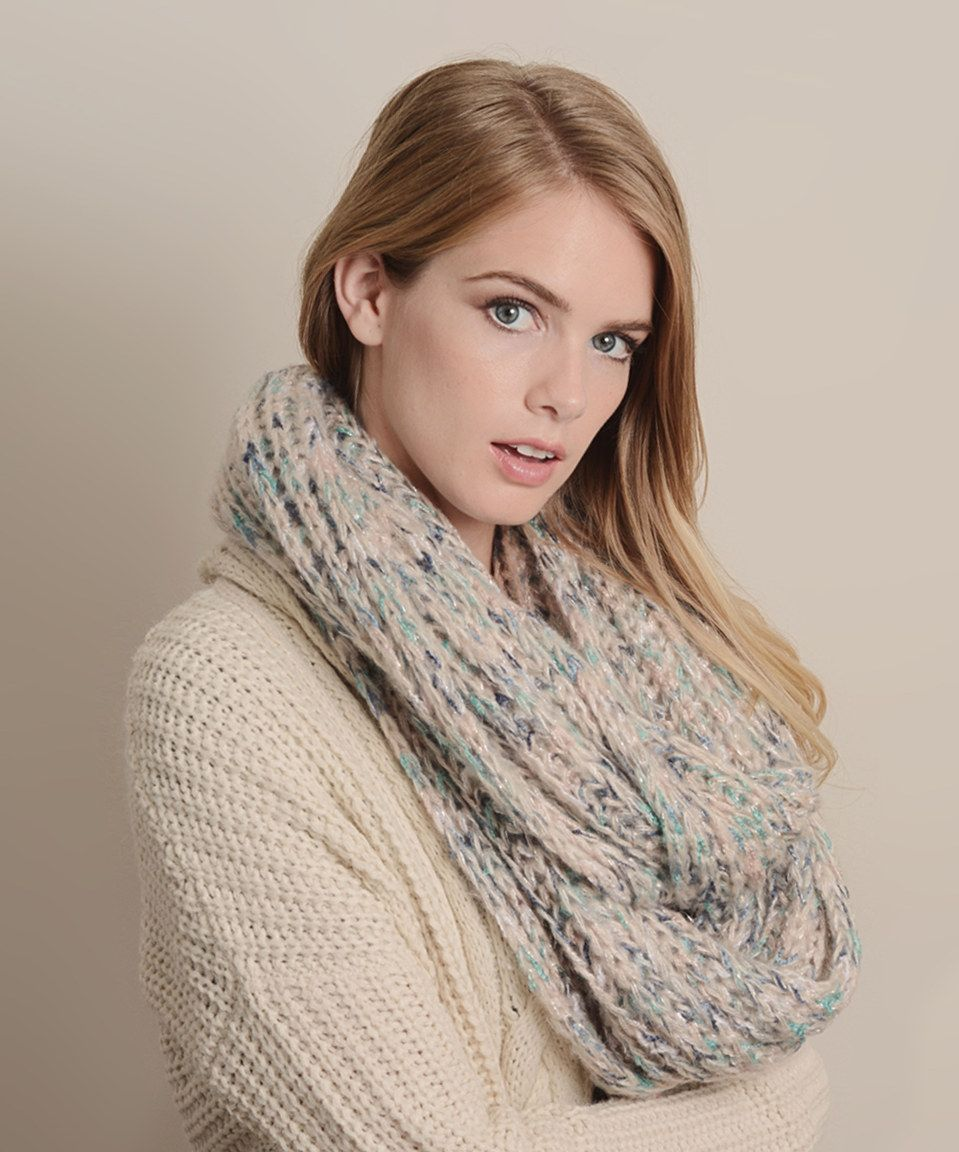 Loving this Teal Variegated Infinity Scarf on zulily!