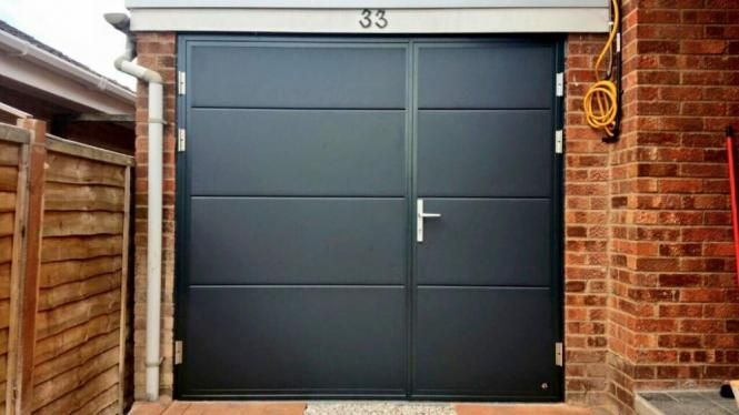 Garage Doors With A Personal Touch Custom Made Garage Doors Side Hinged Sectional Sliding Garaged Garage Doors Side Hinged Garage Doors Garage Door Styles