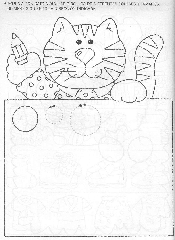 Resultado de imagen para trazo de circulos para colorear | FICHAS ...