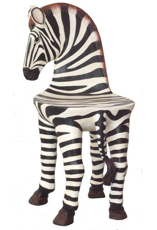 Zebra Chair Small