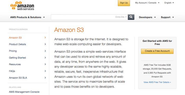 Amazon S3 Email Login To S3 Amazon Com Email Email Service Login Page Email