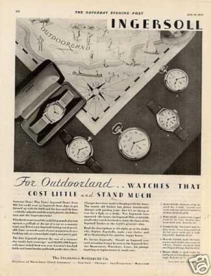 Ingersoll Watches (1930)