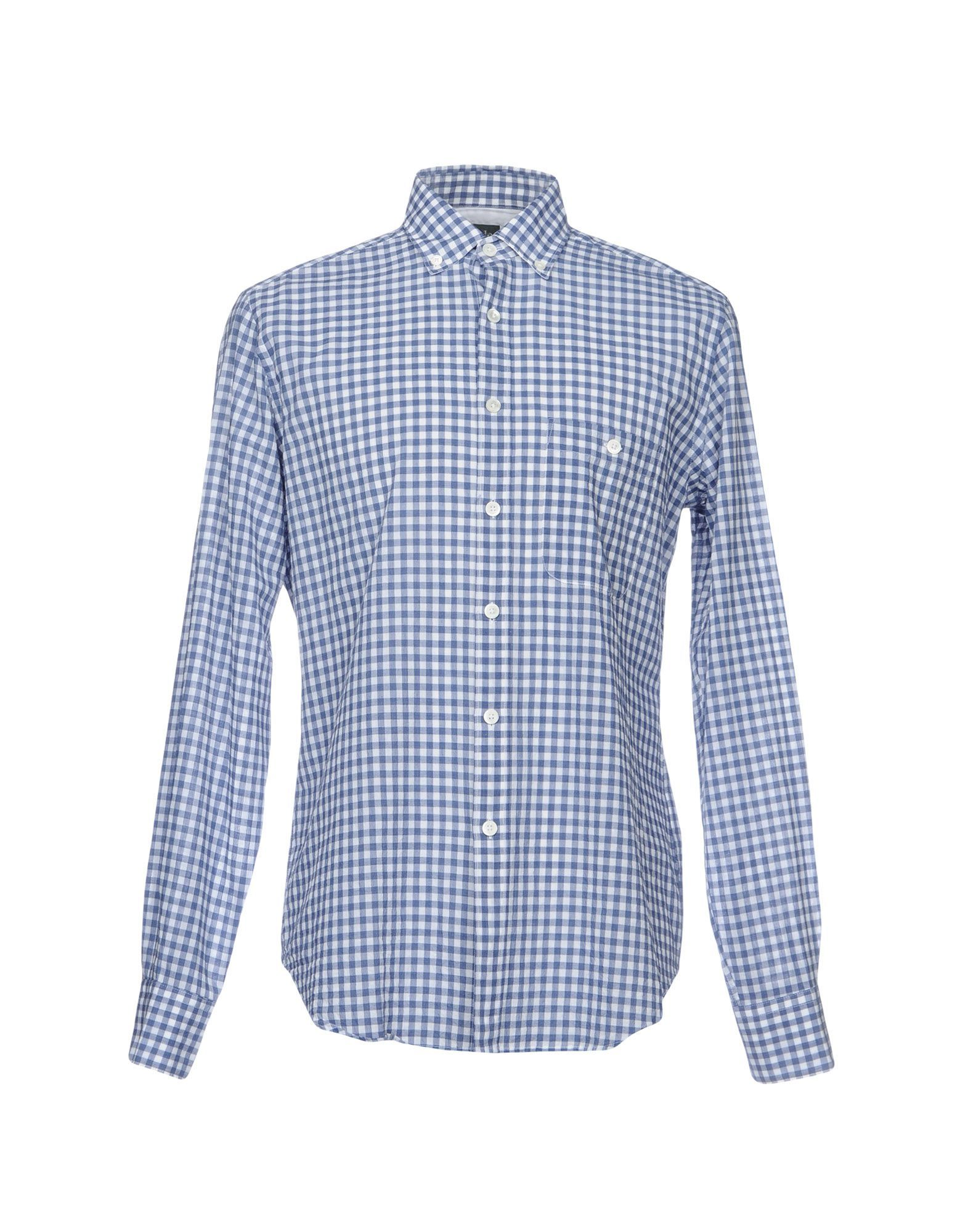 checked shirt - Blue Eleventy Genuine Sale Online XqKF67p