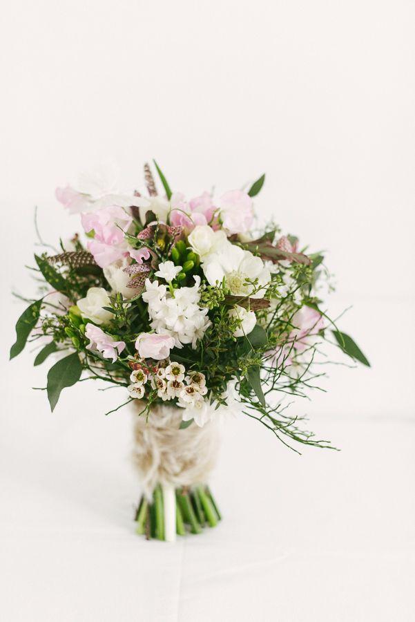 Winter Wedding Bouquet Brautstrau im Winter Anemone
