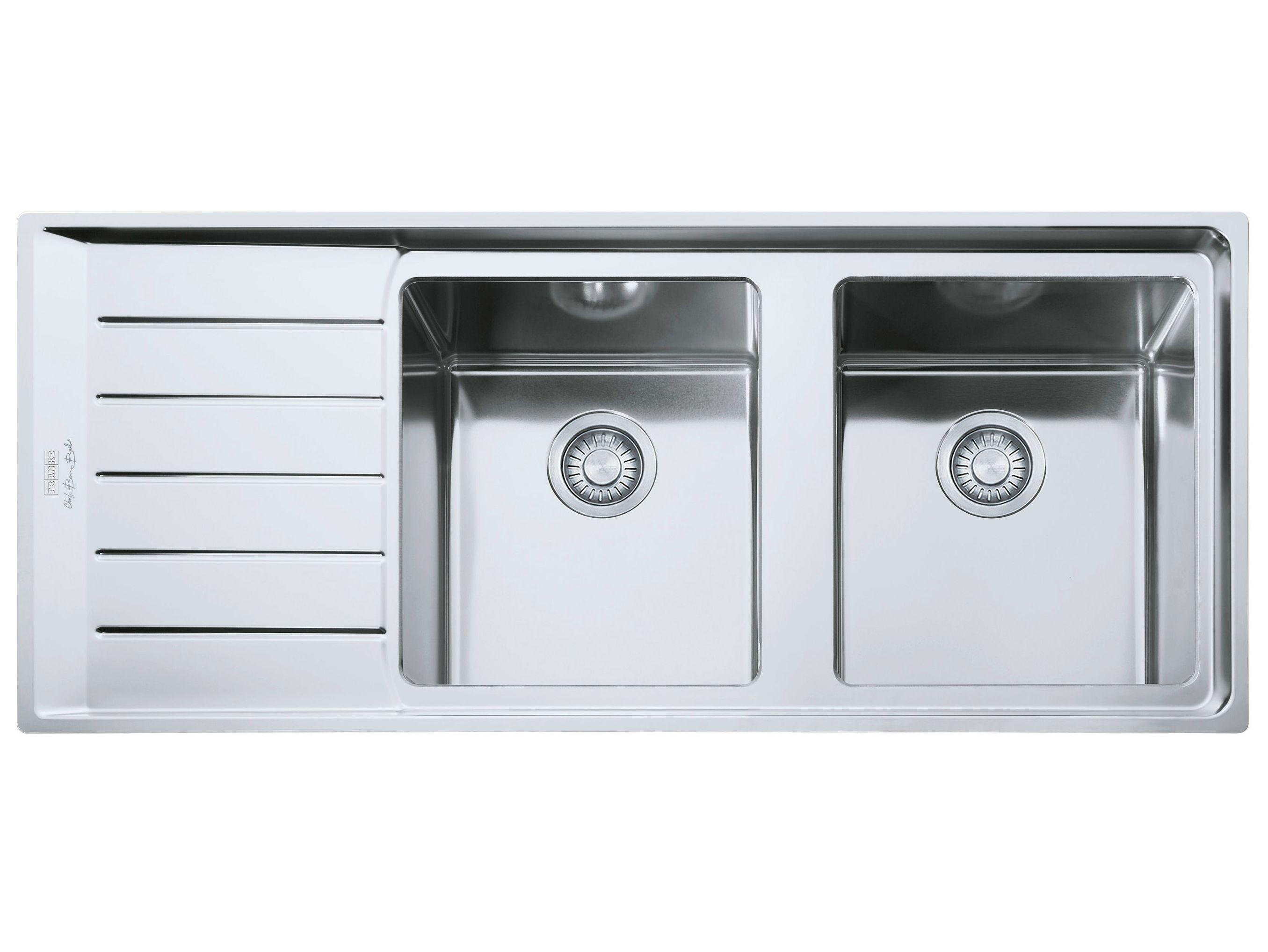 NEPTUNE PLUS Lavello a 2 vasche by FRANKE design Bruno Barbieri ...