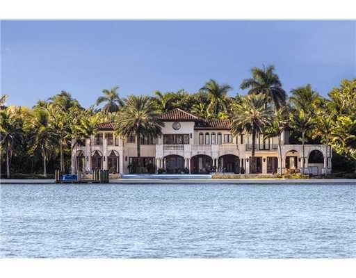 Miami Beach Waterfront Mansion