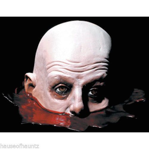Life Size Table Severed Head Halloween Prop Decoration Zombie Dead - adult halloween party decor