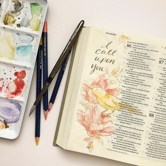 Fischtales Bible Art Psalms Painting Lessons