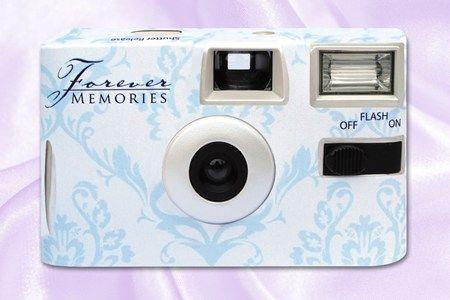 Disposable Cameras Forever Memories Baroque Blue Camera Wedding Cinderella Wedding Wedding Night