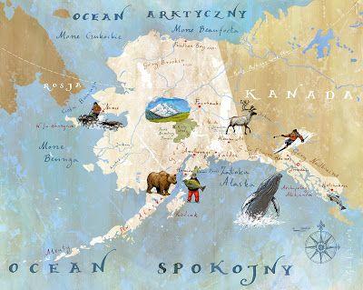 Alaska Landkarte Karten Kanada