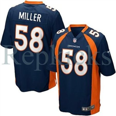 best service 550d7 be8c2 Nike Denver Broncos Von Miller Game Alternate Jersey ...