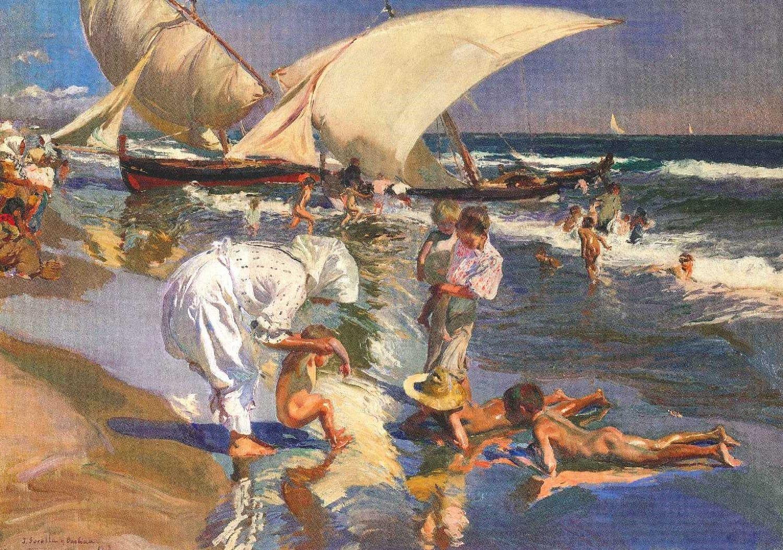 Sorolla Joaquin Sorolla Famous Art Paintings Paintings Famous