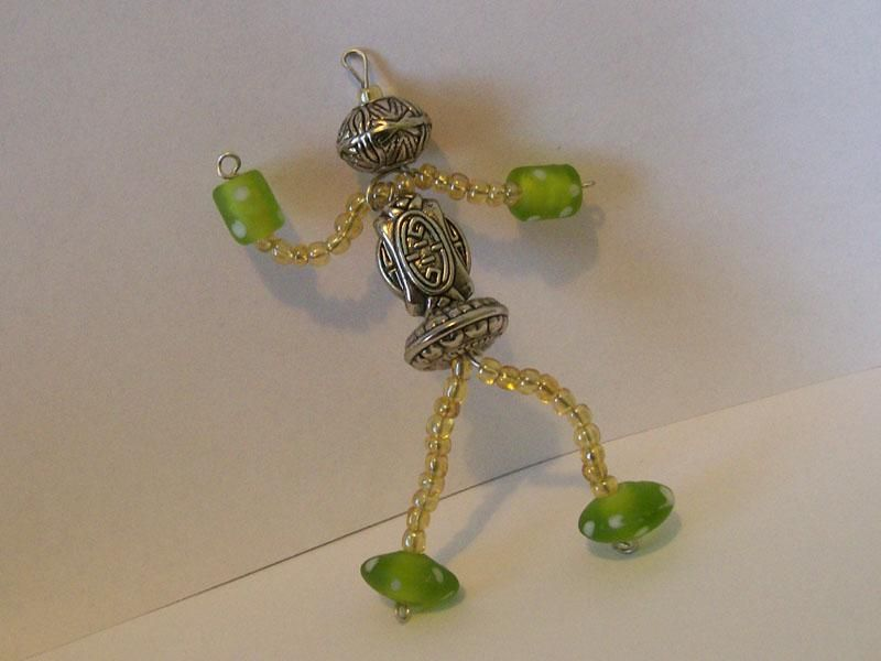 How To Make Wire Bead People