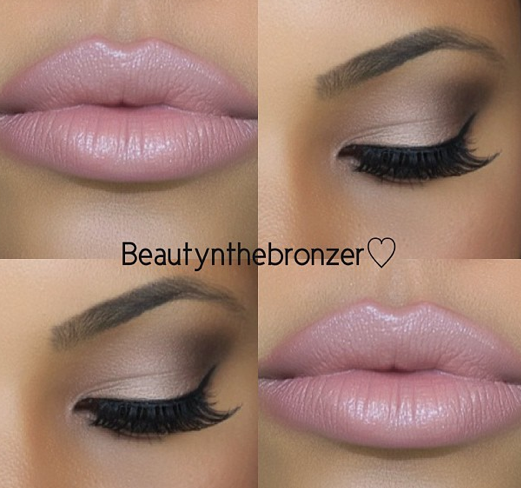 How To Make Up Your Eyes » Neutral and Pink