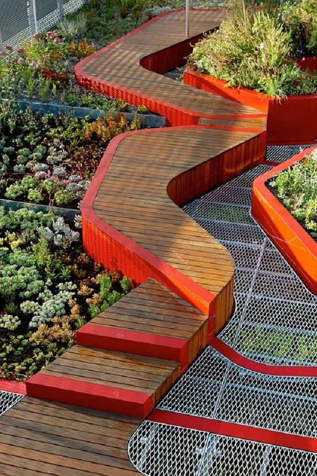 infraestrutura verde - Pesquisa Google tp espace Pinterest - paisaje jardin