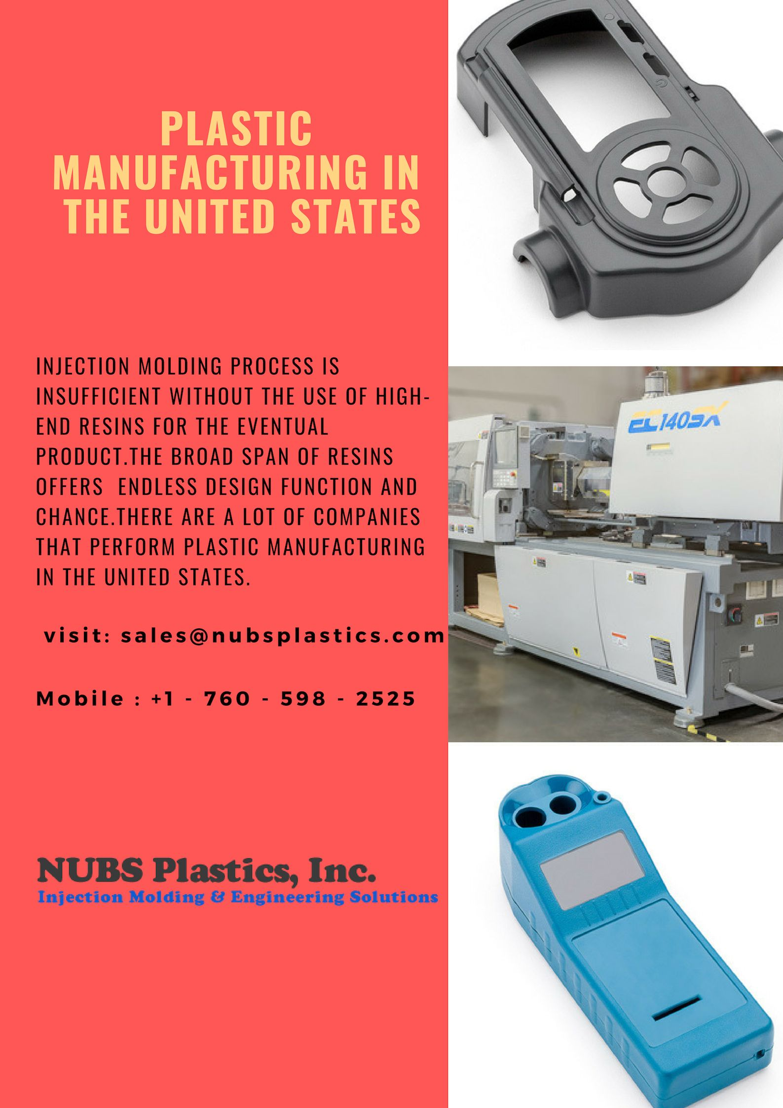 Injection molding process is insufficient without the use of