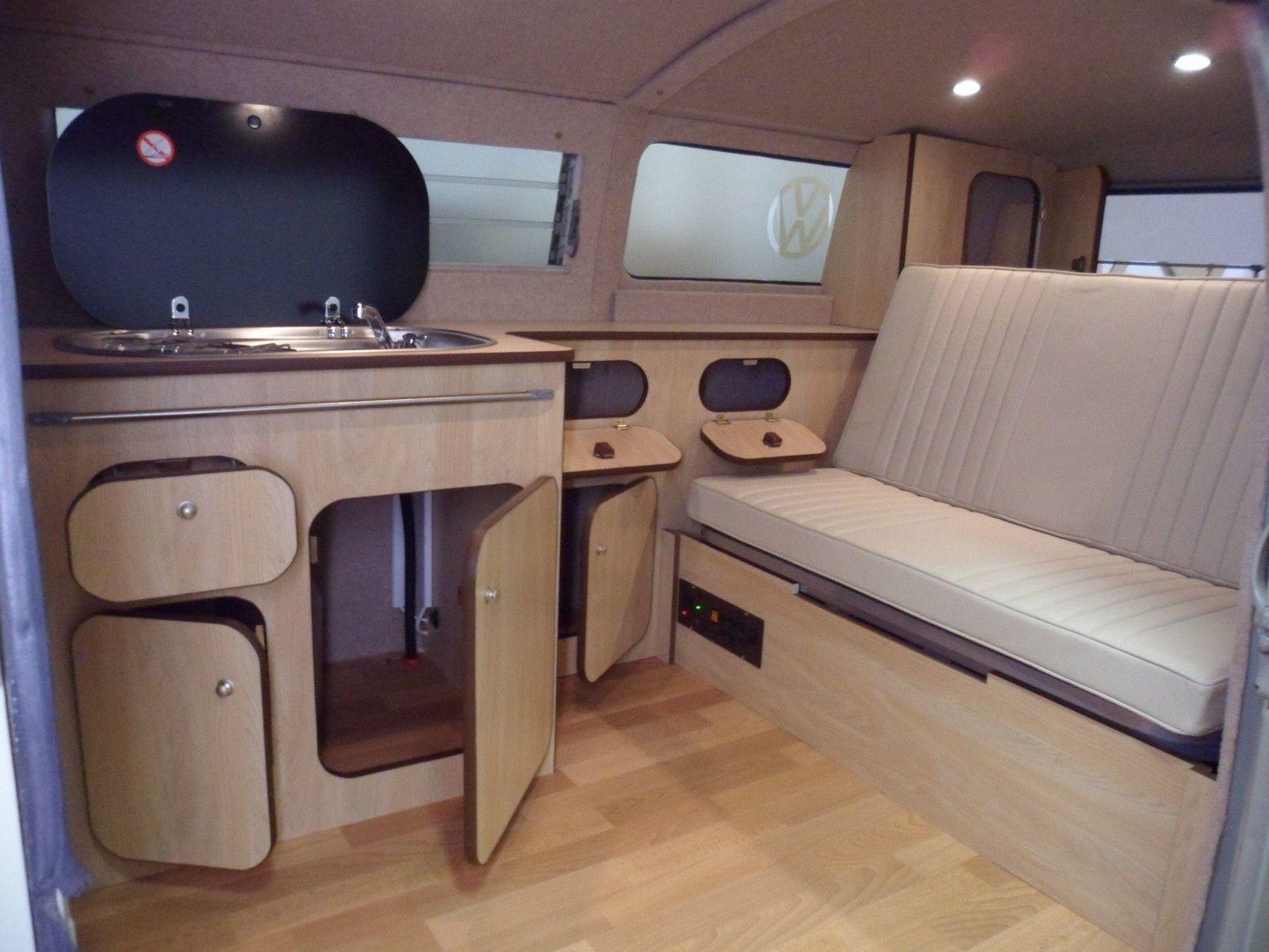 Camper Campervan Interior Conversion Unit For Vw T2 T25 Campervan Interior And Vw