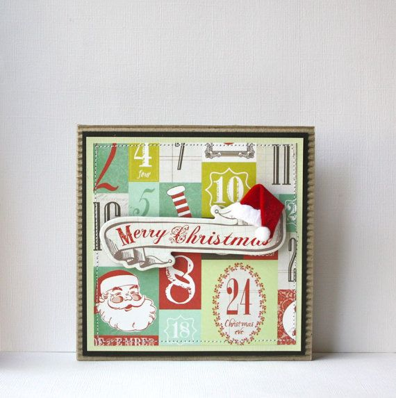 Christmas Handmade Card by SusanTracie on Etsy, $6.25